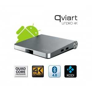 Receptor Android SAT (S2), 4K UHD, H.265, 1 Lector tarjetas, Wifi integrado