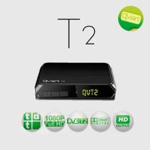 Receptor TV Terrestre T2 HD (TDT), PVR, x1 USB 2.0, SCART, EPG, SPDIF