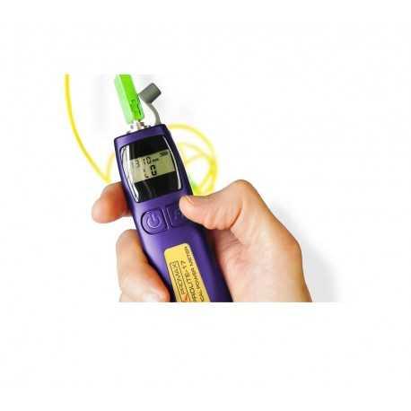 Medidor de potencia óptica de mano