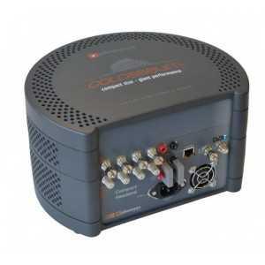 Cabecera transmoduladora compacta con 4 entradas QPSK/DVB-S2 a 4 salidas COFDM.