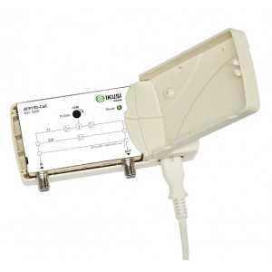 Amplificador de Interior TDT+Satélie,1 salida,18/22dB, 106/112 dBuV.