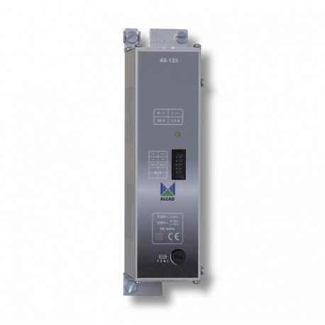 Alimentador 24 Vdc 1,7 A con conector de 10 pins. AS-125 Alcad