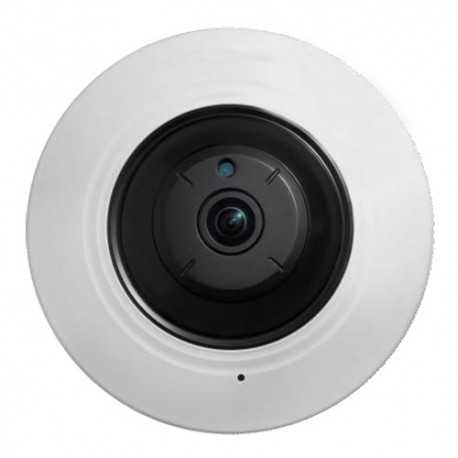 Cámara domo IP 360º 5Mpx, IR 8mts, 1.05mm Fish Eye
