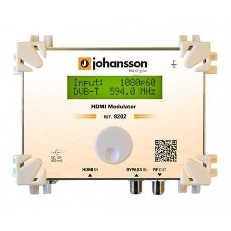 Modulador HDMI 8202 de Johansson