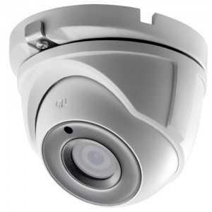 Cámara domo IR TVI CMOS High Performance 5Mpx, 2.8mm, 20mts.