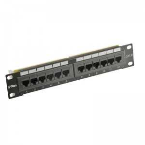 """Patch Panel 10"" x12 CAT5 UTP"