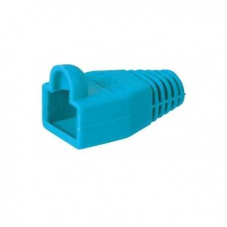 Protector color azul para RJ45