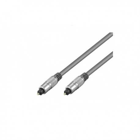 Cable audio óptico digital de 1.5mts con conector Toslink/Toslink