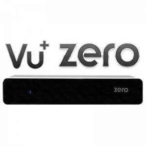 Receptor satélite Linux HD, puerto Ethernet, Enigma2. VU+ ZERO NEGRO