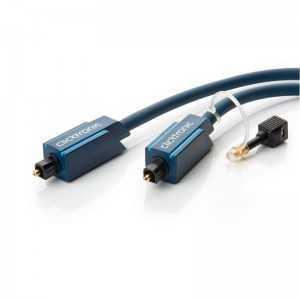 Cable audio óptico digital de 2 mts con conector Toslink/Toslink