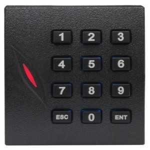 Lector de accesos tarjeta EM o PIN, IP65, compatible controladoras C3 ZKTeco