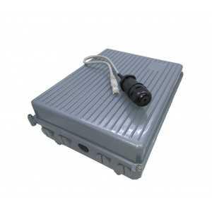 Caja aluminio IP66 1 a 4 antenas (conector N)