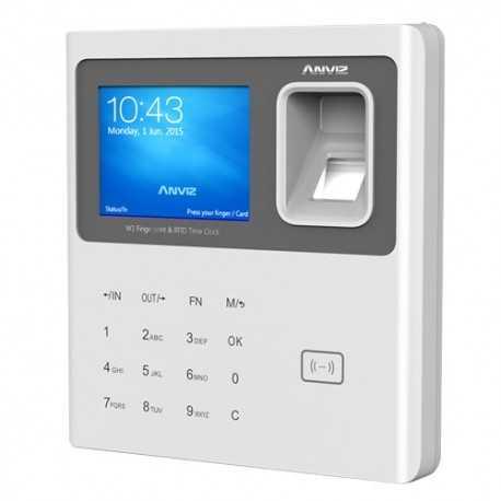 Lector biométrico para control de presencia (Antiguo Reloj de fichar). 3000 huellas + lector de tarjetas RFID y 100000 registro