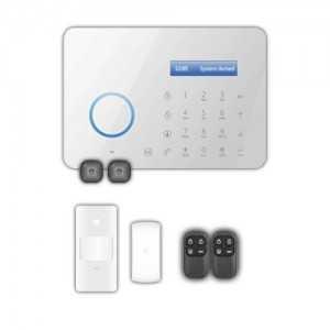 Kit alarma con: 1 PIR, 1 CM, 2 Mandos...