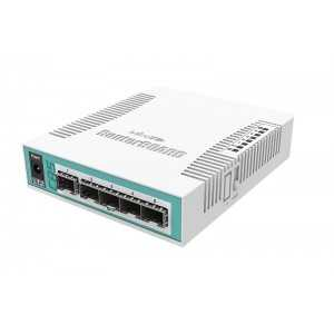 Cloud Router Switch x5 SFP, x1 Combo (RJ45/SFP), RouterOS, L5