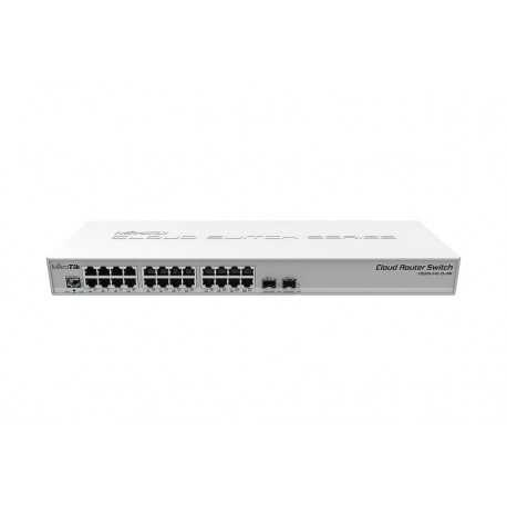 Cloud Router Switch, 800Mhz, 512Mb, 24Gb, 2SFP+, LCD, Level 5
