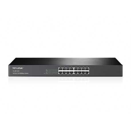 Switch para bastidor con 16 puertos a 10/100 Mbps