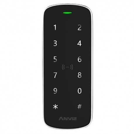 Control de acceso con teclado IP65 autonom con controladora intefrada. MIFARE