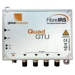 Conversor de Fibra Óptica a RF QUAD. MKIII. Global Invacom