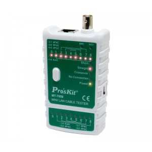 Mini tester de redes CAT5/6 con LEDS, hasta 300mts