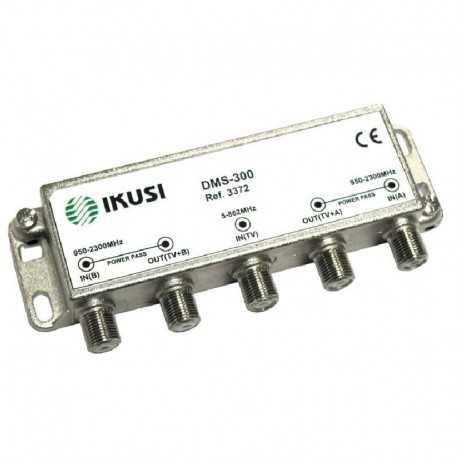 Mezclador 2 entradas FI + 1 entrada terrestre (para ICT). DMS-300