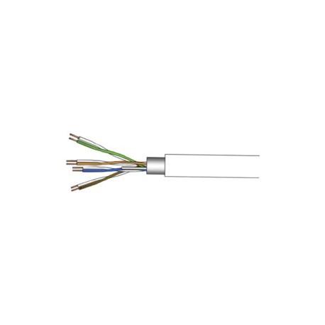 50F5EXTB. Cable de cobre cubierto de polietileno blanco. Caja de 300 metros