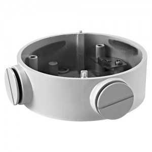 Caja de conexiones para cámaras bullet - Aleación de aluminio - 105 mm (diámetro base)