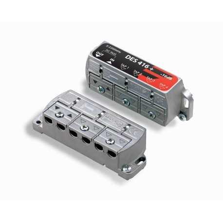 Derivador 2 salidas, 11dB, baja perdida, conexión brida. Fagor