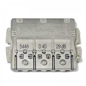 Derivador 4 salidas. 29dB. Planta 8-10