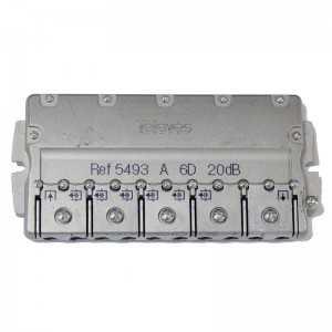 Derivador 6 salidas. 20dB. Plantas 2 y 3