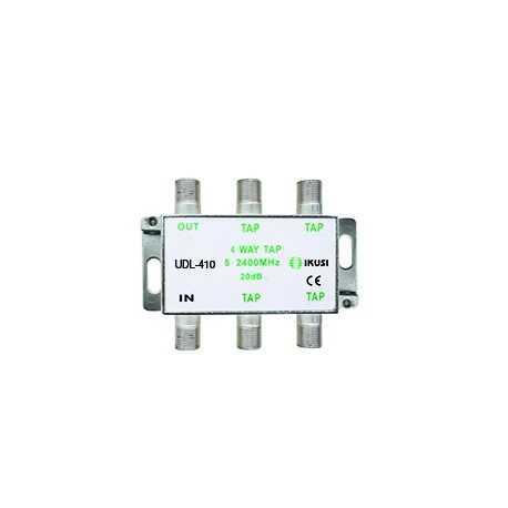 Derivador de montaje interior 2300Mhz, 10 dB, 4 salida.
