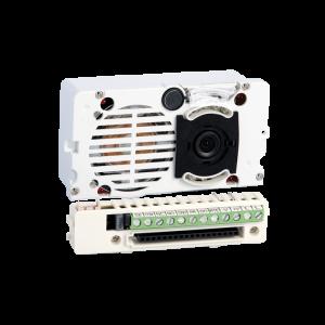Grupo con tele cámara en B/N para placa modelo Ikall. Sistema Simplebus