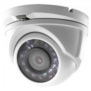 Cámara domo 4 en 1, 1080p, 3,6mm, IR 20mts. IP66, blanca