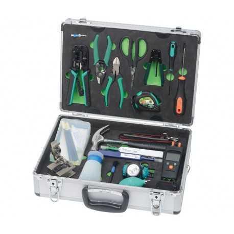 Kit de herramientas de Fibra ÓpticaO con maletín