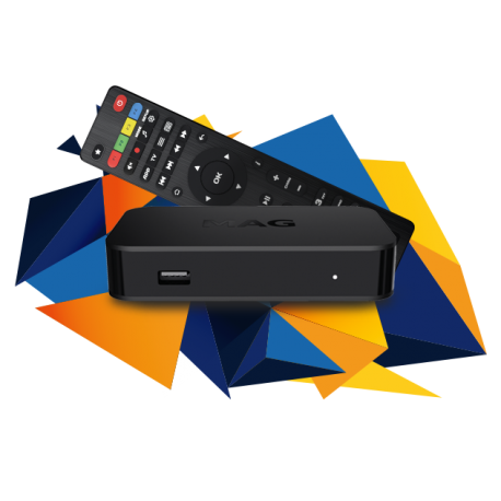 Revez MAG 322 IPTV Set Top Box, Linux 3.3, Dual Core 750Mhz, RAM 512Mb