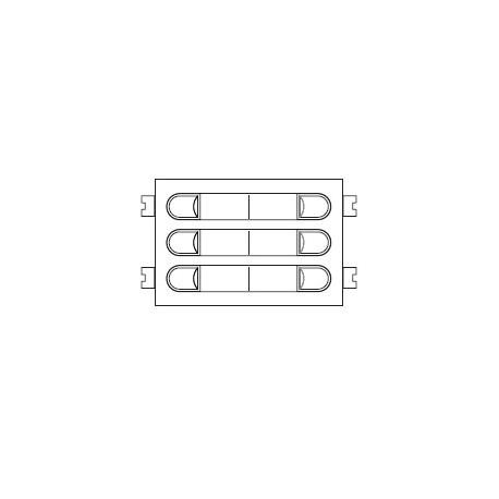 Módulo de pulsadores CITYMAX 4+n 203
