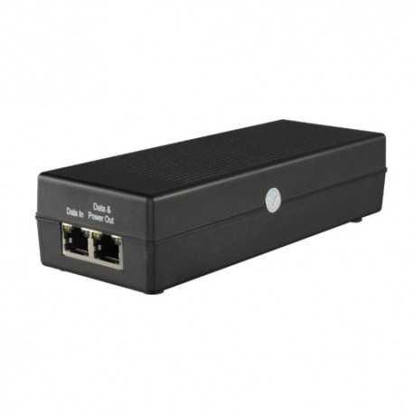 Inyector PoE+ 48v 802.3af, 30W
