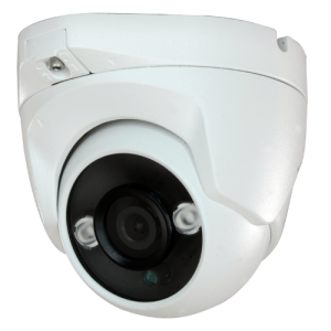 Cámara domo 4 en 1, 1080p, 2.8mm, IR 30mts. IP66, blanca