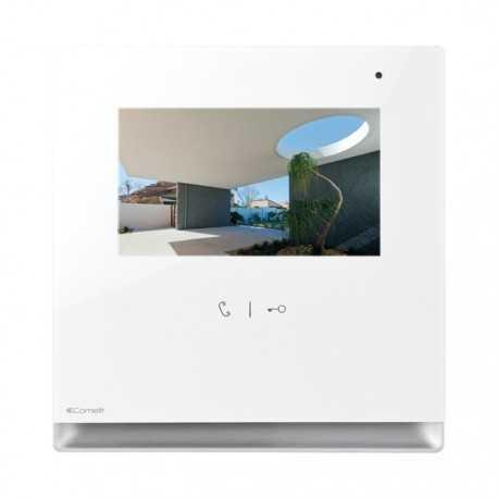 Monitor ICONA manos libres para Quadra. Comelit 6601W