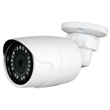 Cámara 4 en 1 IR 20m 720p, lente 2.8mm. IP66