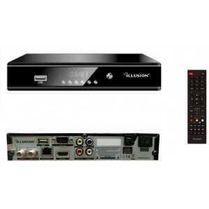 Receptor SAT DVB-S2 & IPTV ILLUSION SA1500
