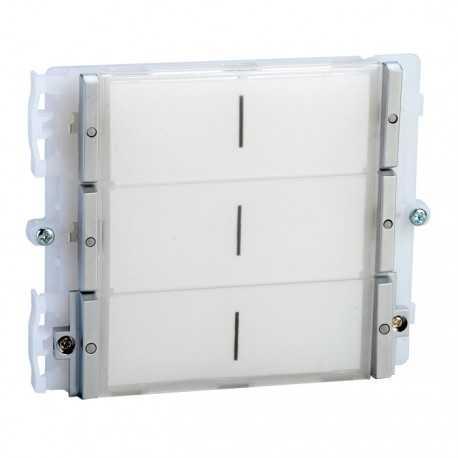 Modulo de 6 pulsadores para placa mod. Ikall, Sistema Simplebus.