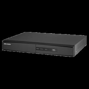 Grabador híbrido 16 canales, H264. HIKVI