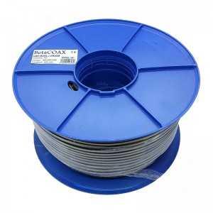 Cable coaxial 26,6dB a 2150Mhz. 6,8 mm. cobre con gel de Petróleo (instalaciones subterráneas).PE