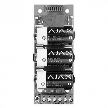 Transmisor vía radio Ajax.