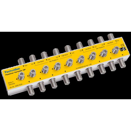 Distribuidor pasivo 9 conexiones de entrada y 2x9 de salidas.