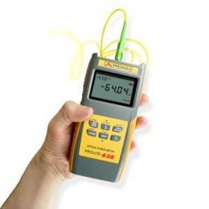 Medidor de potencia óptica de propósito general sin filtros. Low cost