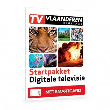 Tarjeta de abono a TV-VLAANDEREN (Belgas Flamencos)