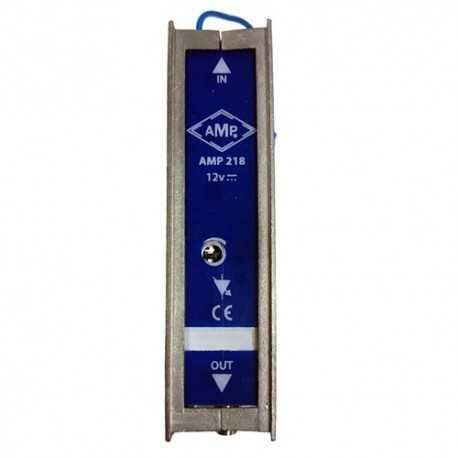 Amplificador monocanal 45dB, 120dBuV, 12