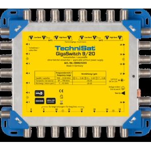 Multiswitch de 1 Entrada TDT/8 SAT y 20 salidas